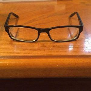 Armani Exchange eyeglasses with traveling case